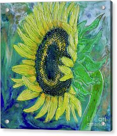 Sunflower Smiles Acrylic Print