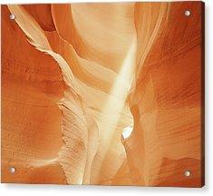 Sunlight In Antelope Canyon, Arizona Acrylic Print by Robert Glusic
