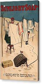 Sunlight Soap Acrylic Print by Hulton Archive