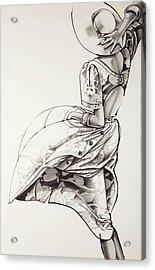 Sunny Day Acrylic Print by Barbara Tyler Alhfield
