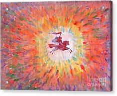 Sunny Rider Acrylic Print