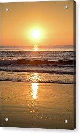 Sunrise At Surfers Paradise Acrylic Print