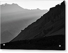 Acrylic Print featuring the photograph Sunrise In The Himalayas by Whitney Goodey