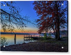 Sunrise On The Patuxent Acrylic Print