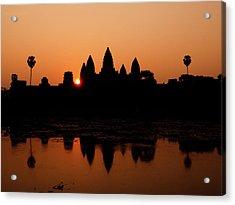 Sunrise Over Angkor Wat, Cambodia Acrylic Print