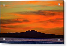 Sunrise Over Santa Monica Bay Acrylic Print