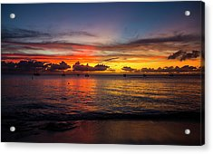 Sunset 4 No Filter Acrylic Print