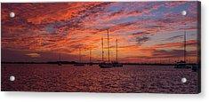 Acrylic Print featuring the photograph Sunset Across The Keys by Mark Duehmig