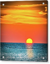 Sunset Captiva  Acrylic Print