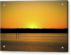 Sunset From National Harbor Acrylic Print