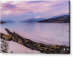 Sunset In Ushuaia Acrylic Print