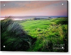 Acrylic Print featuring the photograph Sunset - Lahinch by Scott Kemper