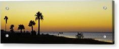 Sunset On Copano Bay, Texas Acrylic Print