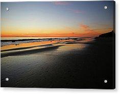 Sunset Over Avalon Acrylic Print by Robin Street-Morris