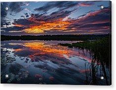 Sunset Over Little Sugarloaf IIi Acrylic Print