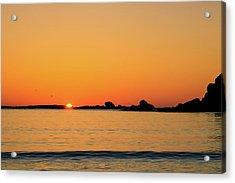 Sunset Over Sunset Bay, Oregon 4 Acrylic Print