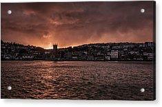 Sunset Harbour Acrylic Print