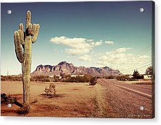Superstition Acrylic Print