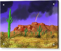 Superstition Splendor Acrylic Print