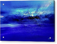 Superstorm At Sea Acrylic Print