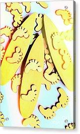 Surfing Pop Acrylic Print