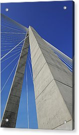 Suspension Bridge Details Acrylic Print