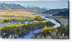 Swan Valley Acrylic Print
