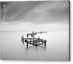 Swanage Old Pier Acrylic Print