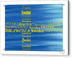 Sweden  Acrylic Print