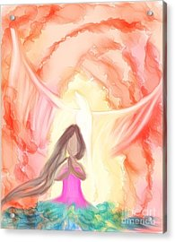 Sweet Hour Of Prayer Acrylic Print