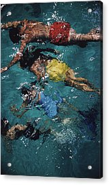 Swimming In The Bahamas Acrylic Print