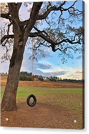 Swing In Tree Acrylic Print
