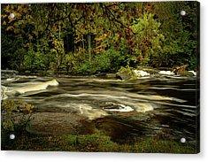 Swirling River Acrylic Print