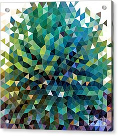 Synchronicity Of Color Acrylic Print