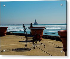 Table For One Acrylic Print