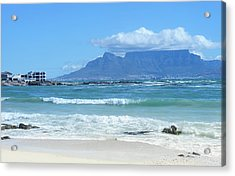 Table Mountain Cape Town Acrylic Print