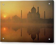Taj Mahal Acrylic Print by Neal J. Wilson