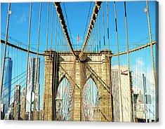 Take It To The Brooklyn Bridge Acrylic Print