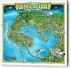 Tampa Bsy 2019 Acrylic Print