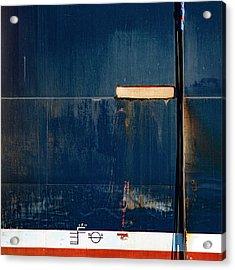 Tanker In Drydock Number 2 Acrylic Print