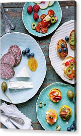 Acrylic Print featuring the photograph Tapas by Nicole Young
