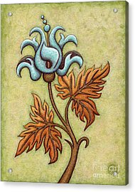 Tapestry Flower 2 Acrylic Print