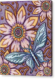Tapestry Butterfly Acrylic Print