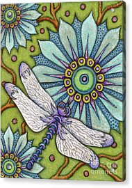 Tapestry Dragonfly Acrylic Print