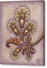Tapestry Flower 4 Acrylic Print