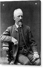 Tchaikovsky Acrylic Print by Hulton Archive