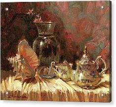 Tea By The Sea Acrylic Print
