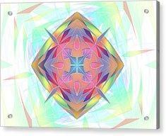 Techno Fantasy Acrylic Print