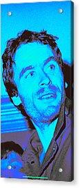 Ted Bundy Blue Acrylic Print