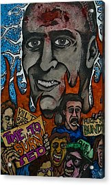 Ted Bundys Last Smile Acrylic Print